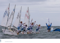 USA Only Just Retains Grasp on Team Racing World Title for Second Year