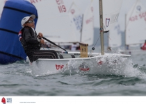 Top Sailors Stake Calims on Penultimate Day of OptiWorlds