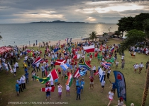 The 2017 Optimist World Championship marks the official opening ceremony